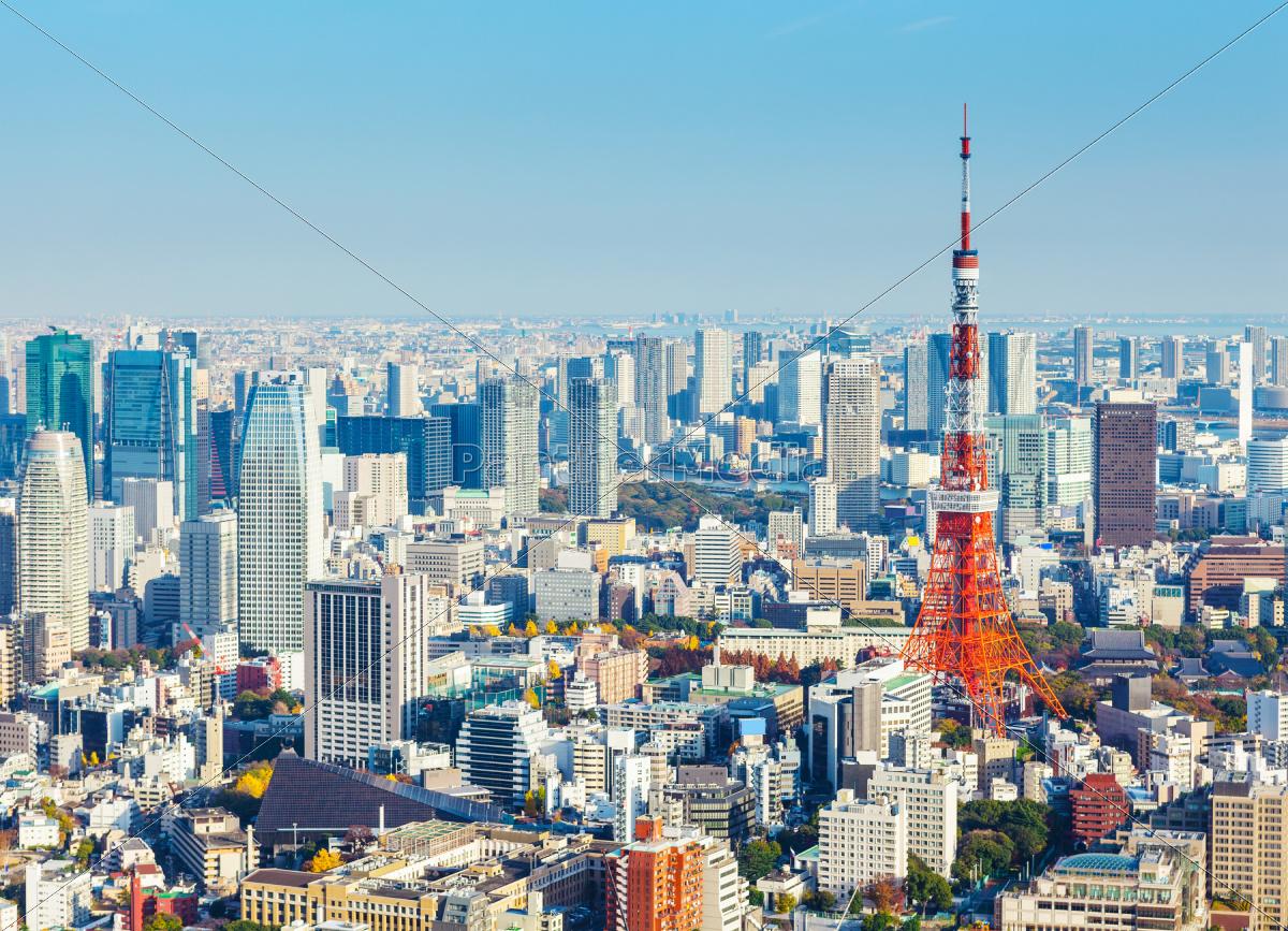 tokyo, skyline - 10250055