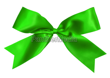 green, bow, isolated - 10260075