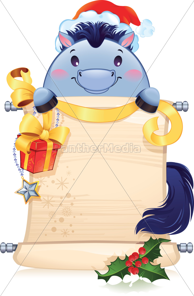 the, blue, horse, is, a, symbol - 10267619