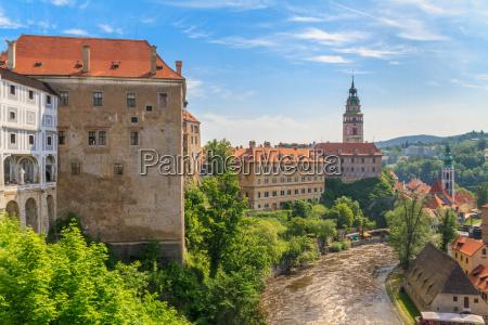 cesky krumlov krumau castle and