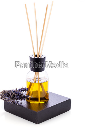 aromatic room fragrance with lavender oil