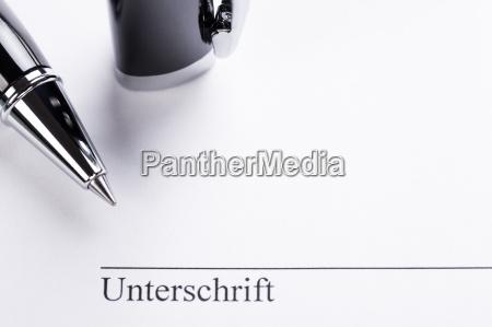 signature, signature, with, pen, on, paper - 10292291