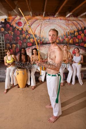 european, capoeira, musician - 10301047