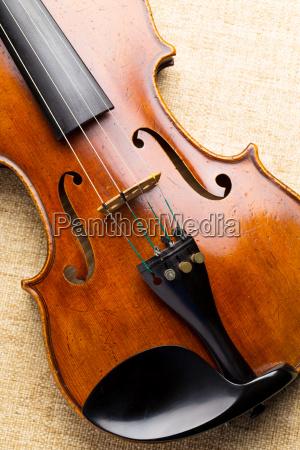 western musical instrument violin