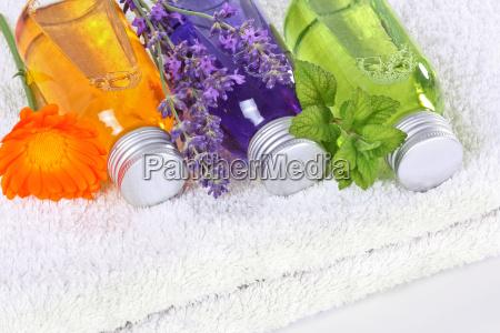 benessere con calendula lavanda e balsamo