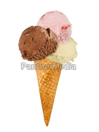 ice, cream, in, cone - 10309215