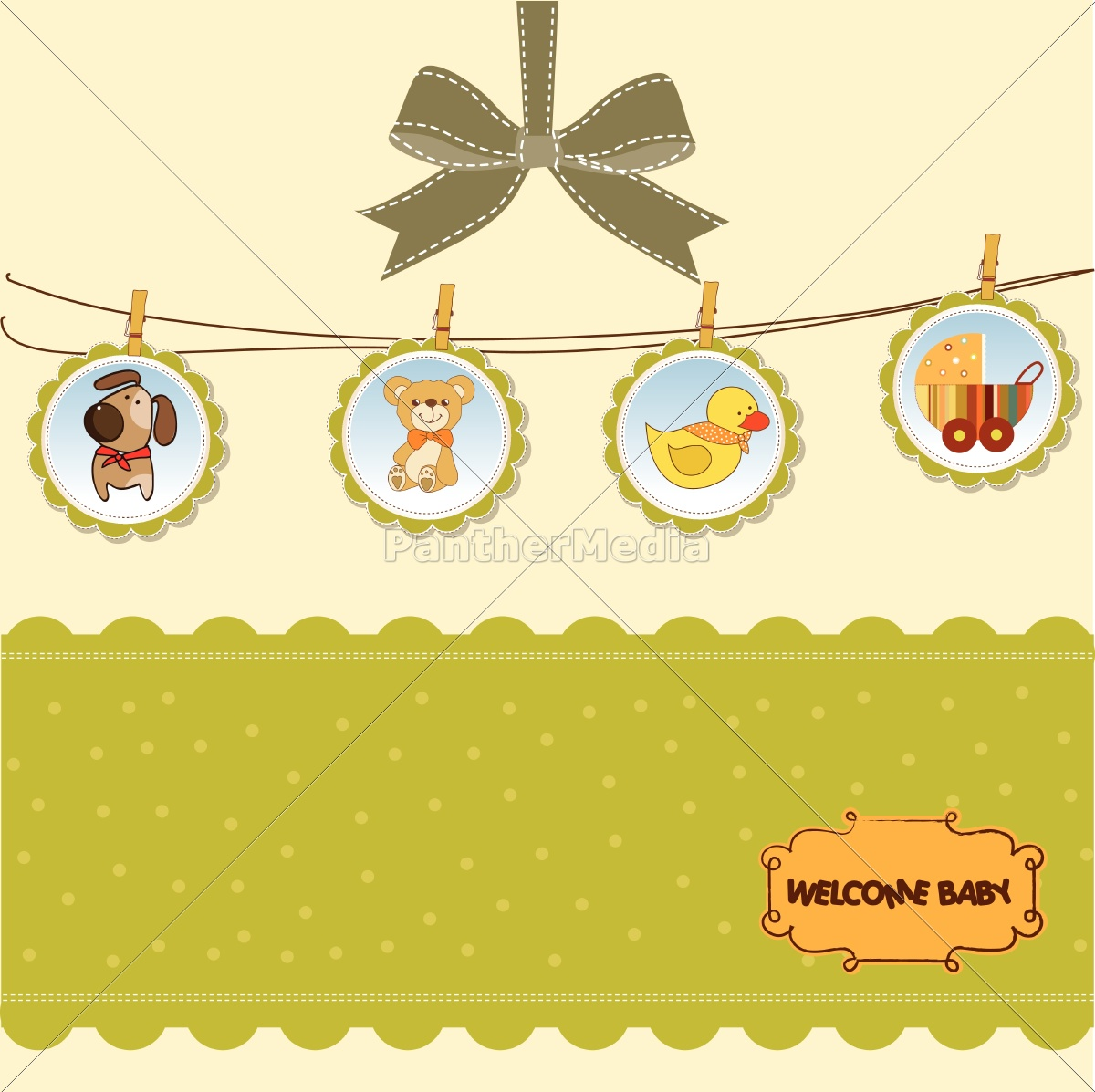 new, baby, announcement, card - 10309001