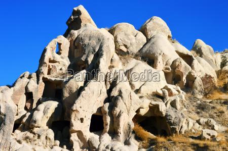 rocks of cappadocia in central anatolia