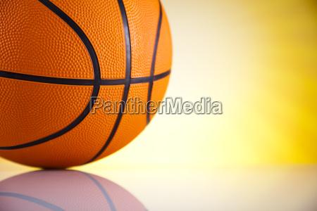 basketball ball sunshine