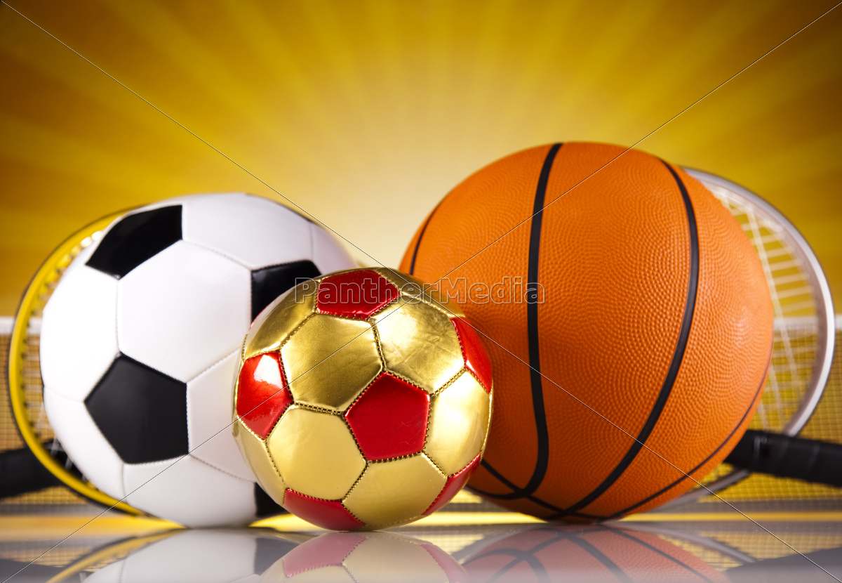 four, sport, , a, lot, of, balls - 10329631