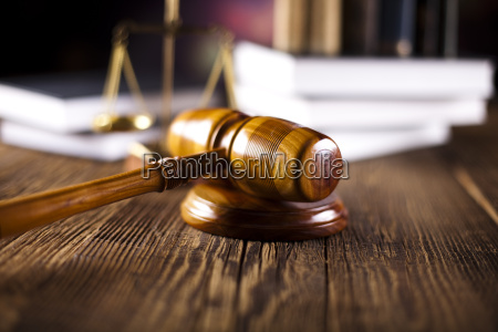 law legal code and scales of