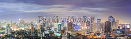 bangkok, downtown, skyline, panorama - 10332893