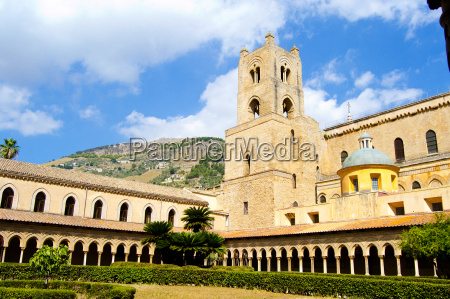 sicily, -, cloister, of, the, cathedral - 10336095