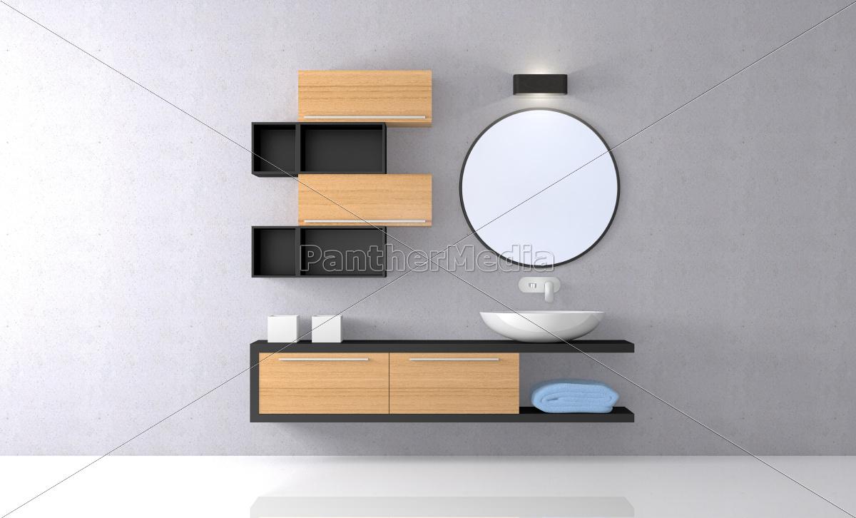 modern, bathroom - 10337355