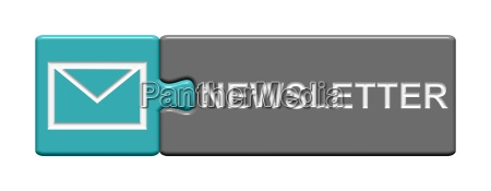 puzzle button newsletter grey blue
