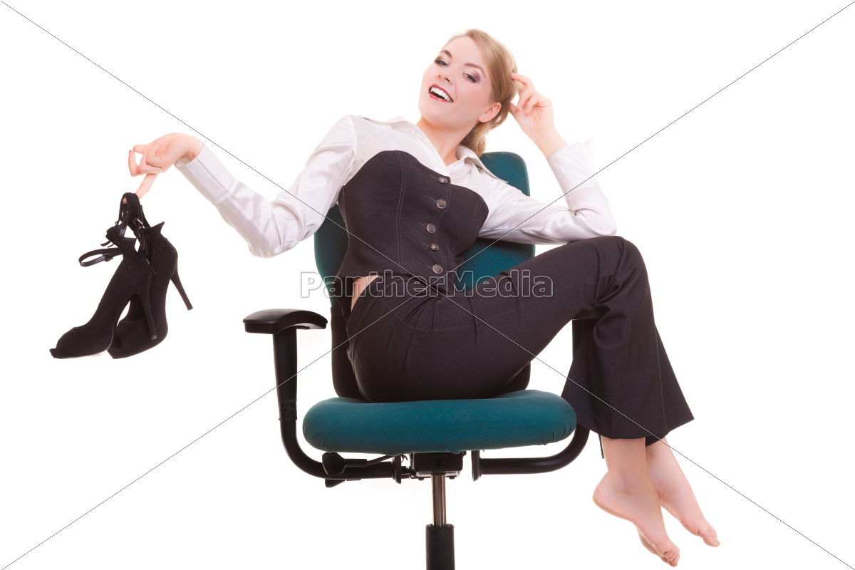 work, stoppage., happy, business, woman, on - 10359021