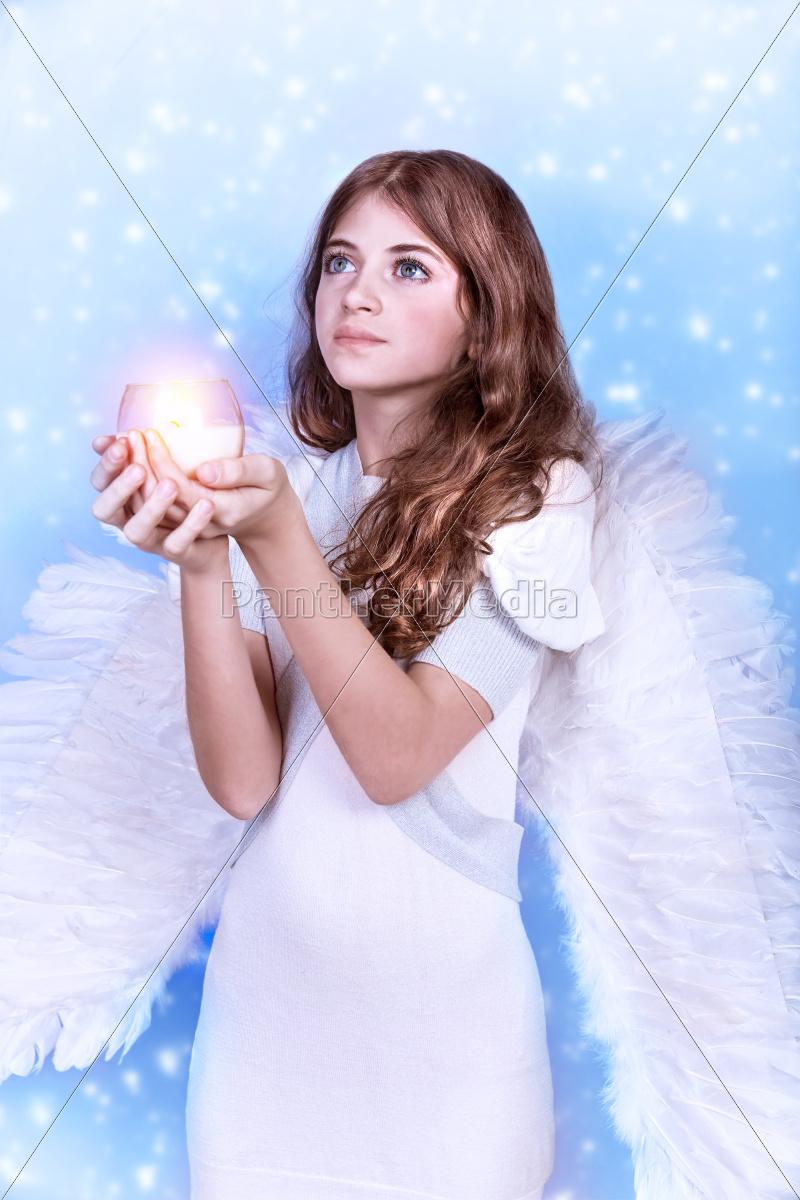 christmas, wish, of, an, angel - 10385337