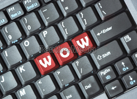 wow on keyboard