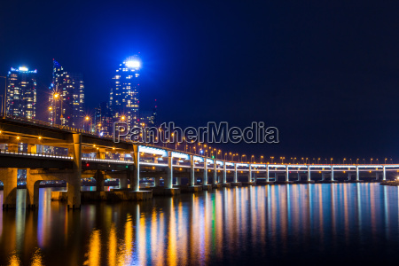 busan city at night
