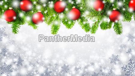 weihnachtlicher, snowflakes, background - 10394179