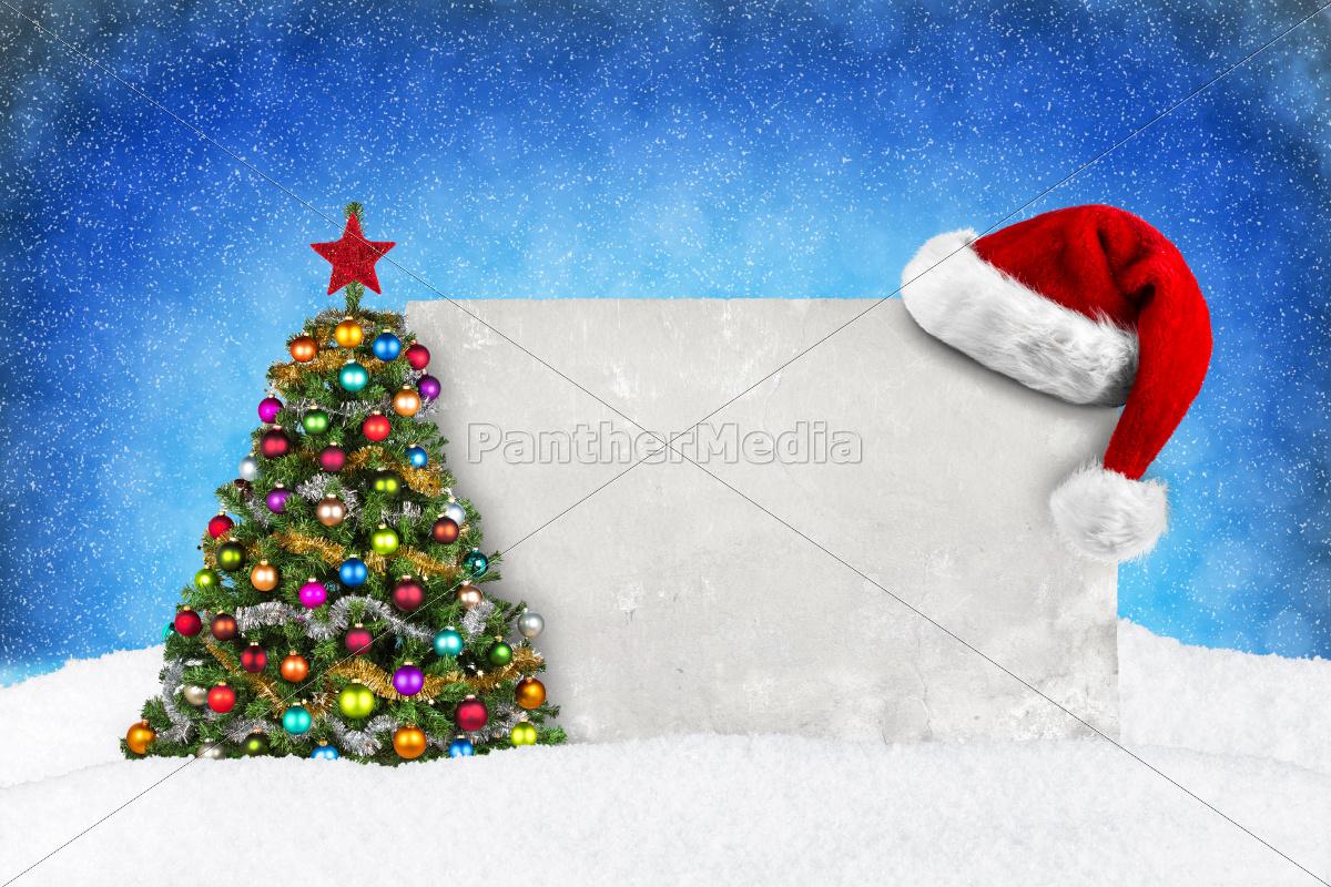 xmas, card, blue, snow - 10415109