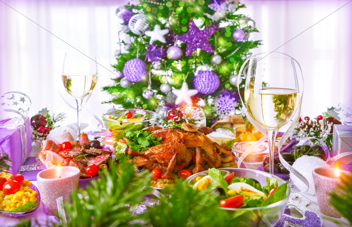 christmas, dinner - 10455057