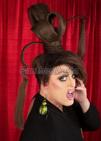frightened drag queen