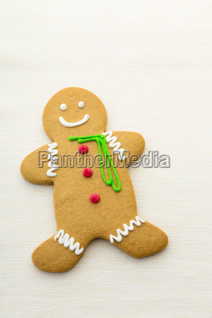 gingerbread isolated on white