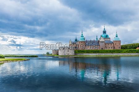 castello storico di kalmar in svezia