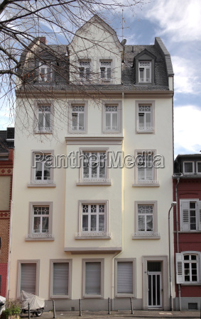 house in the old town of