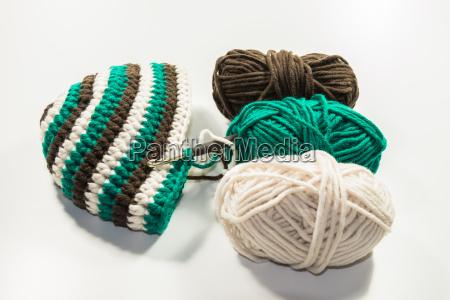 hat crochet hook wool