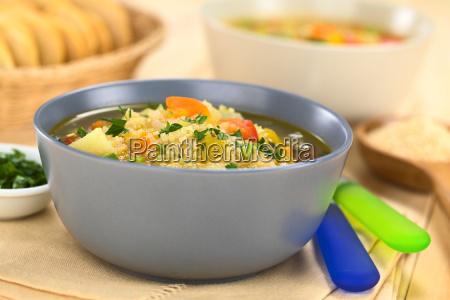 vegetarian quinoa soup