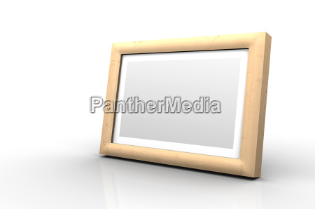 wooden picture frame apple birch