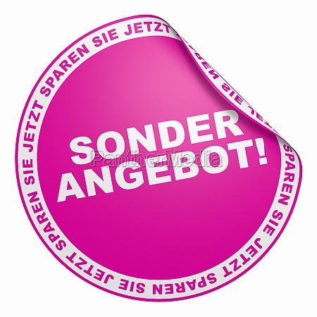 3d sticker pink mom