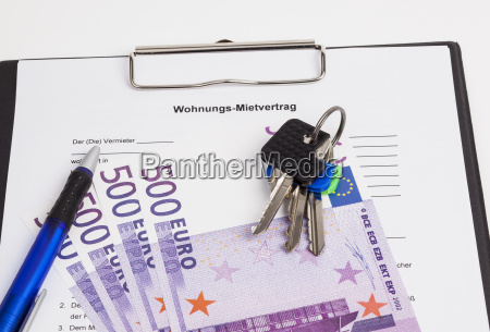 lease keys and money