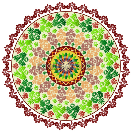 oriental pattern and ornaments five
