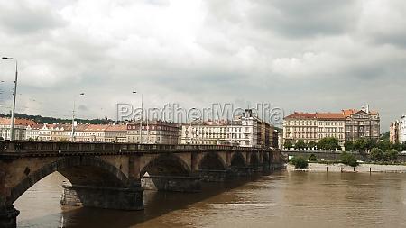 palacky bridge prague czech republic