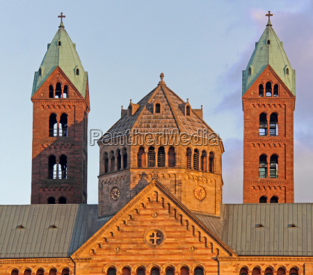 west towers dom to speyer in
