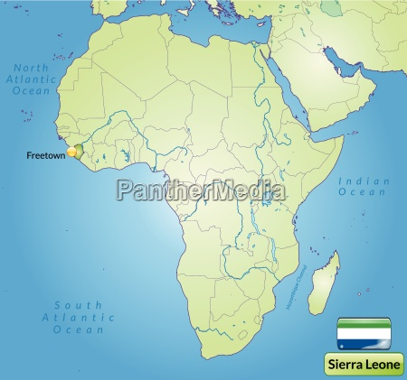surrounding area of sierra leone with