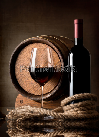 wine and rope