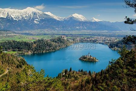island of bled slovenia