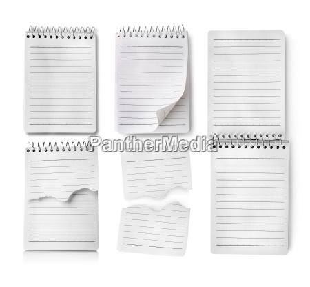 collage of notebooks