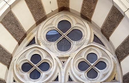 round decorative window