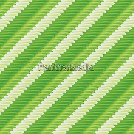 fabric with green striped pattern