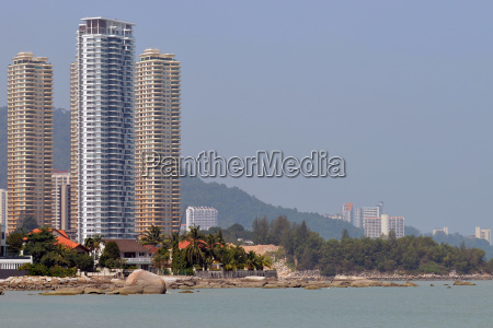 on the coast of malaysia penang