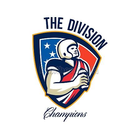 american football quarterback division champions