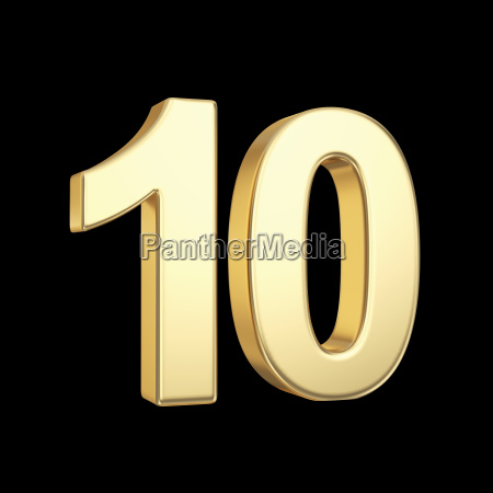 red number 10