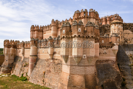 coca castle castillo de coca is