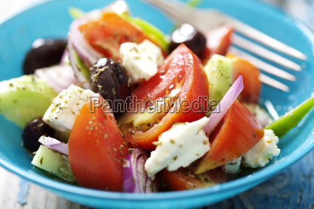 rustic greek salad