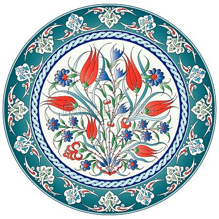oriental ottoman design twenty five version